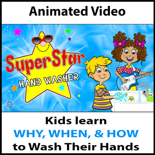 Second Additional product image for - Hand Washing Lesson Plan PreK-Gr1