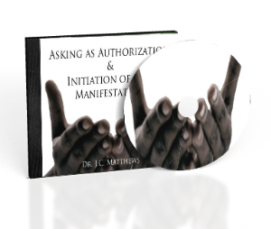asking: the authorization & initiation of our manifestation