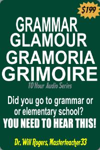 grammar; gramoria; glamour