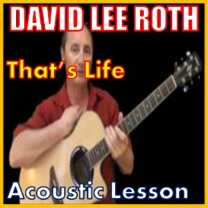 learn to play that's life by david lee roth / sinatra