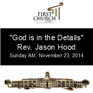 God is in the Details (Rev. Jason Hood) | Other Files | Everything Else