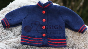 dollknittingpatterns - 2014 weihnachtsgruss - jacke (deutsch)