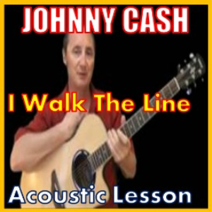 learn to play i walk the line by johnny cash