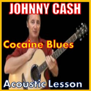 learn to play cocaine blues by johnny cash