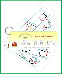 HCS - Llaveros didacticos abecedario y figurar | Other Files | Graphics