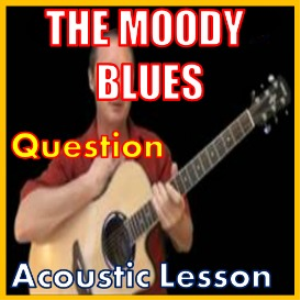 learn to play question by the moody blues