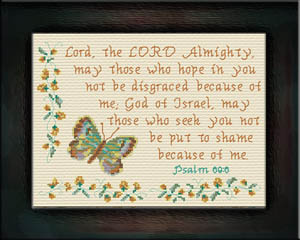 God of Israel | Crafting | Cross-Stitch | Other