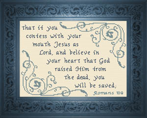 You Will Be Saved | Crafting | Cross-Stitch | Other