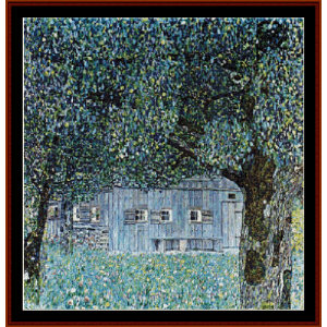 Lakeside with Birch Trees III - Klimt cross stitch pattern by Cross Stitch Collectibles   Crafting   Cross-Stitch   Wall Hangings