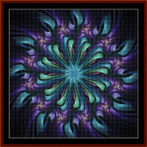 Fractal 470 cross stitch pattern by Cross Stitch Collectibles | Crafting | Cross-Stitch | Wall Hangings