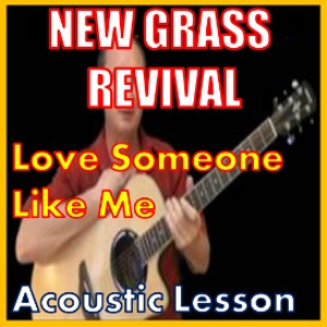 learn to play love someone like me by new grass revival