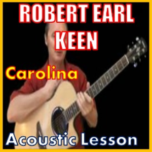 learn to play carolina by robert earl keen