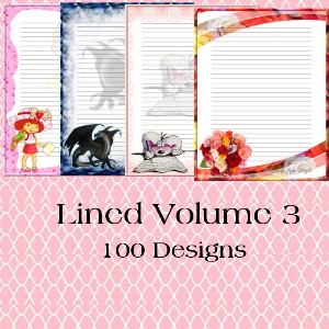 Lined Volume 3 | Crafting | Paper Crafting | Other