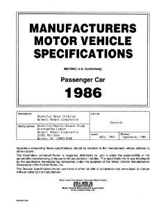 1986 chevrolet corvette mvma