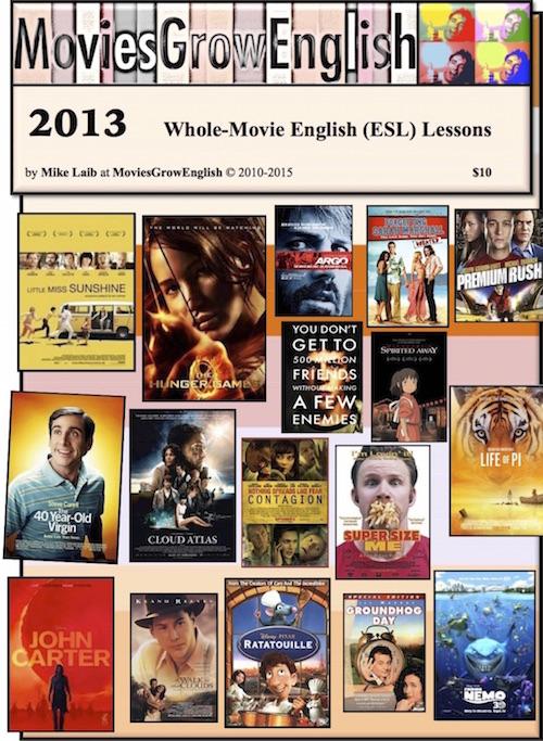 MoviesGrowEnglish MOVIE ESL LESSON YEARBOOK-2013