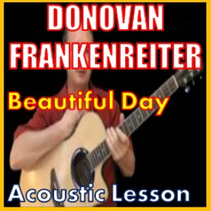 learn to play beautiful day by donovan frankenreiter