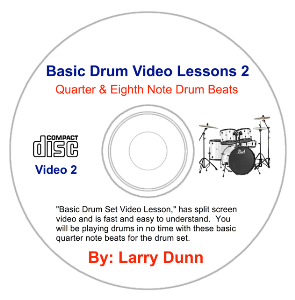 basic drum set lesson 2