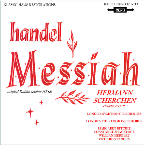 handel: messiah - lpo choir/soloist/london so/hermann scherchen