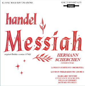 handel: messiah - lpo choir/soloist/london so/hermann scherchen