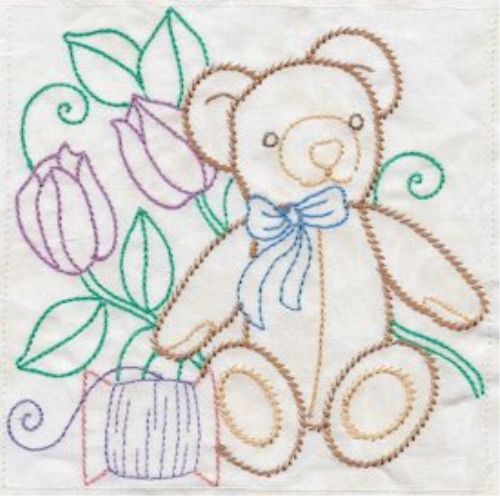 First Additional product image for - Sewing In Stitches 5x5