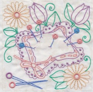 Sewing In Stitches Machine Embroidery 4x4 DST | Crafting | Embroidery