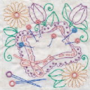 Sewing In Stitches Machine Embroidery 6x6 JEF | Crafting | Embroidery