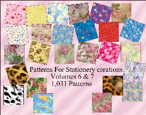 Paint Shop Pro Patterns Vol 6 - 7 Made By Sophia Delve | Other Files | Graphics
