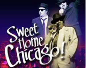 sweet home chicago instrumental version featuring a 5 piece horn section