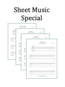 8 pack sheet music