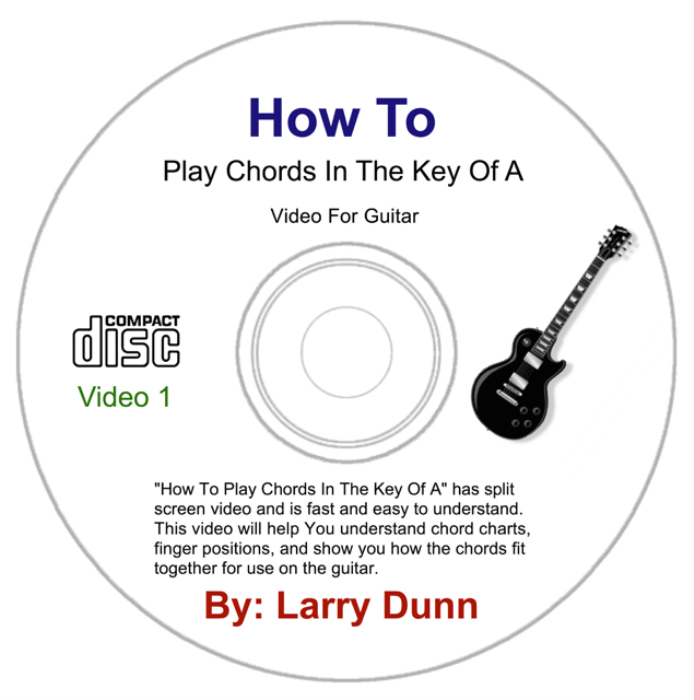 First Additional product image for - How To Play Chords In The Key Of A