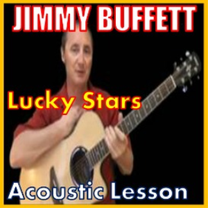 learn to play lucky stars by jimmy buffett