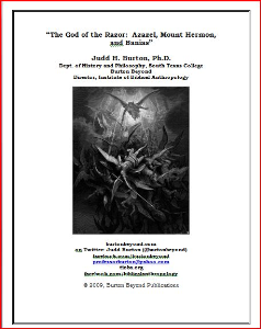 The God of the Razor: Azazel, Mount Hermon, and Banias | Documents and Forms | Research Papers