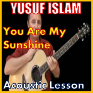 learn to play you are my sunshine by cat stevens