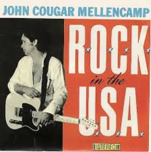 rock in the usa john cougar mellencamp lead sheet back vocals