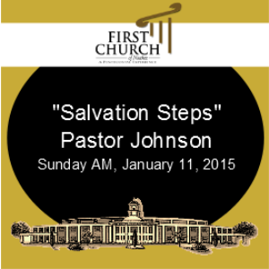 salvation steps (pastor james johnson)