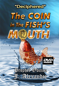 """deciphered"" the coin in the fish's mouth"