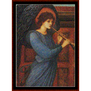 angel - burne-jones cross stitch pattern by cross stitch collectibles