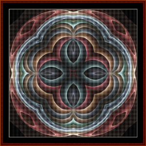 Fractal 475 cross stitch pattern by Cross Stitch Collectibles   Crafting   Cross-Stitch   Wall Hangings