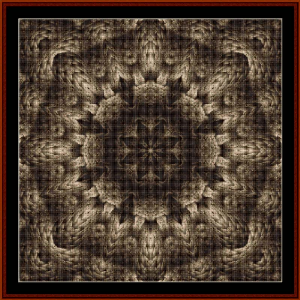 Fractal 477 cross stitch pattern by Cross Stitch Collectibles | Crafting | Cross-Stitch | Wall Hangings