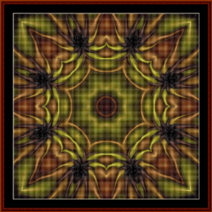 Fractal 478 cross stitch pattern by Cross Stitch Collectibles | Crafting | Cross-Stitch | Wall Hangings