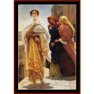 Helen of Troy - Leighton cross stitch pattern by Cross Stitch Collectibles | Crafting | Cross-Stitch | Wall Hangings