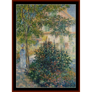 Garden in Argenteuil - Monet cross stitch pattern by Cross Stitch Collectibles | Crafting | Cross-Stitch | Wall Hangings