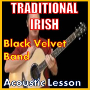 learn to play the black velvet band - irish traditional