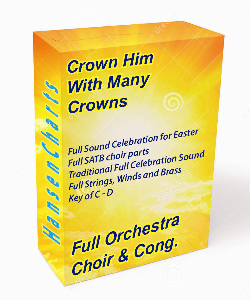 crown him with many crowns full orchestra satb cong