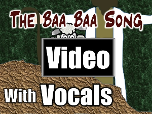 baa baa song - video
