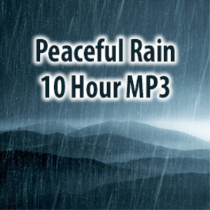 peaceful rain mp3 (10 hours)