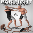 BAR FIGHT Poses for Genesis 2 Male(s) | Other Files | Graphics