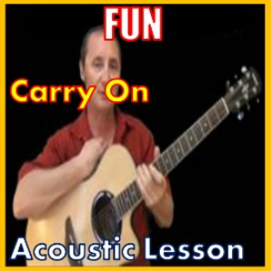 Learn to play Carry On by Fun   Movies and Videos   Educational