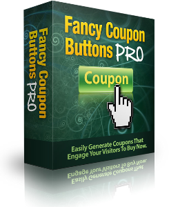 fancy coupon buttons, social media software bundle