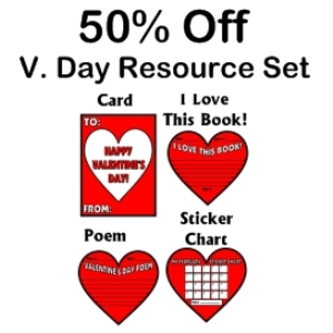 50% off valentine's resource set